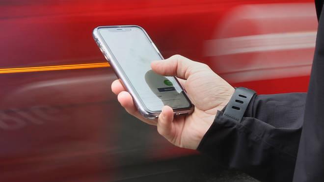 Smartphone accident study