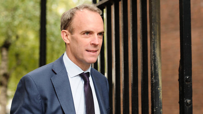 Dominic Raab has hinted that Manchester could be forcibly put into Tier 3 restrictions