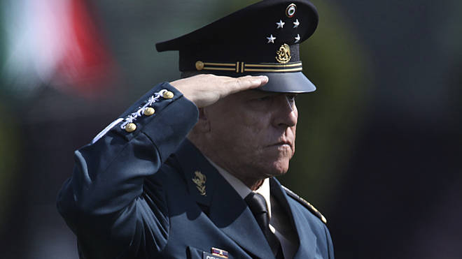 Mexico Detained General