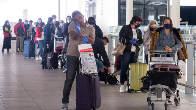 Heathrow passengers offered rapid covid test at check-in for £80