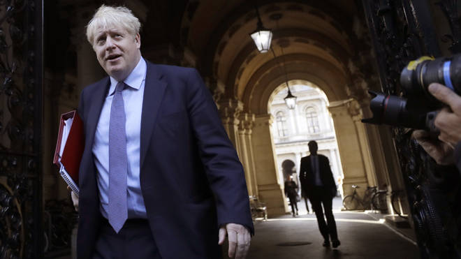 Boris Johnson will speak at a press conference later