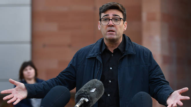 Greater Manchester Mayor Andy Burnham turned down a £60 million offer saying it wasn't enough to support those in the region
