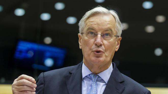 The EU's chief negotiator Michel Barnier