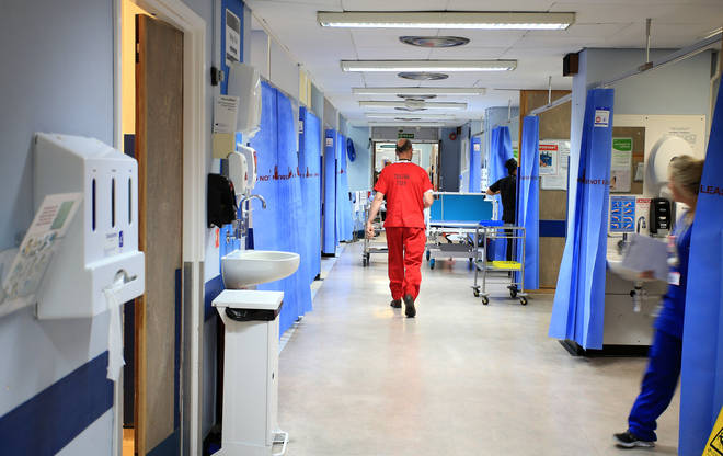 Hundreds of Covid-19 patients are being admitted to hospital in England every day
