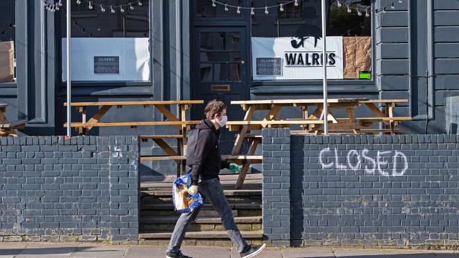 Closed pubs
