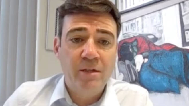 Andy Burnham spoke to the Business, Energy and Industrial Strategy Committee