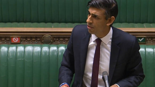 Rishi Sunak unveiled the measures in the Commons today