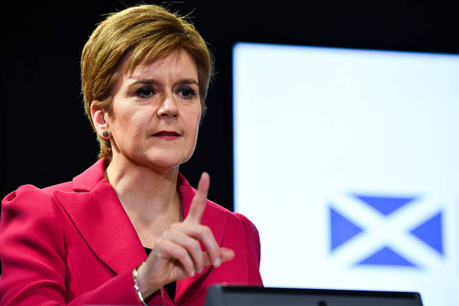 Scottish Firmer Minister Nicola Sturgeon has slammed the UK Government for failing to provide extra support