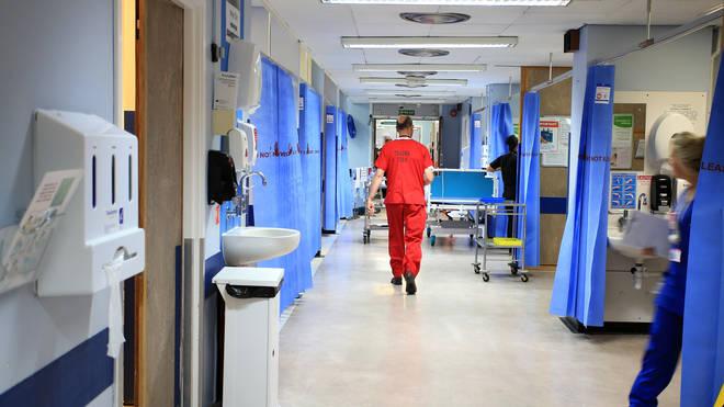 A ward at Royal Liverpool University Hospital, Liverpool
