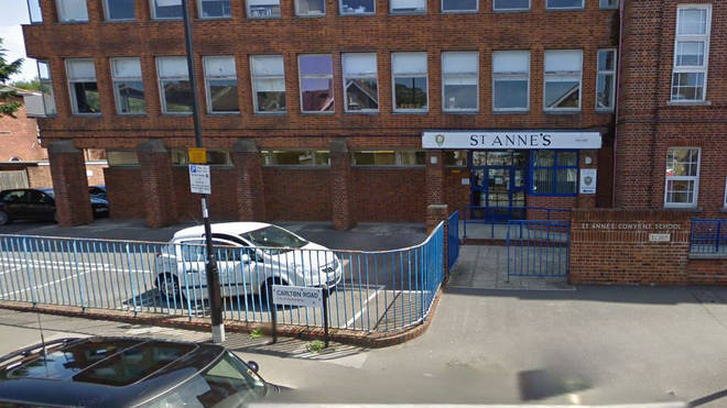 Pupils from St Anne's school in Southampton were given the warning