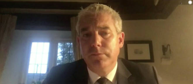 Stephen Barclay was speaking with Nick Ferrari on LBC