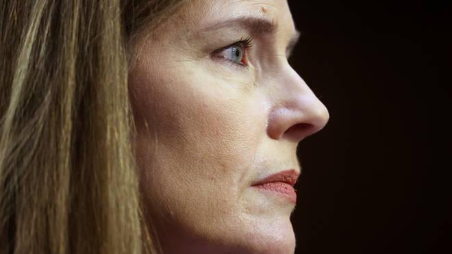 Supreme Court nominee Amy Coney Barrett (Jonathan Ernst/AP)