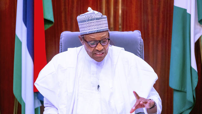 Nigeria's President Muhammadu Buhari (Bayo Omoboriowo/AP)