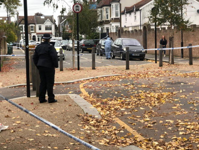 Police are at the scene in Walthamstow