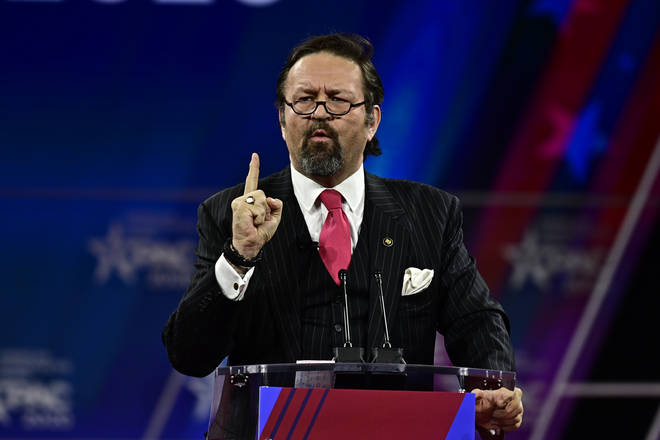 Mr. Gorka suggested that Joe Biden is a weak candidate for US President