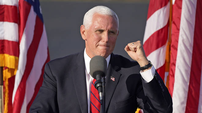 Mike Pence will carry on campaigning