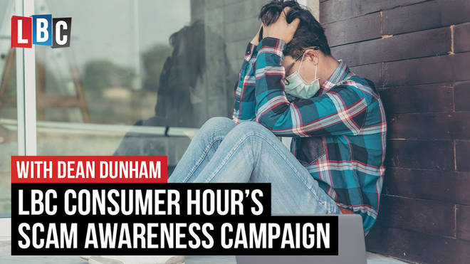 LBC consumer hour's scam awareness campaign
