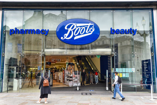 File photo: Piccadilly branch of Boots in London
