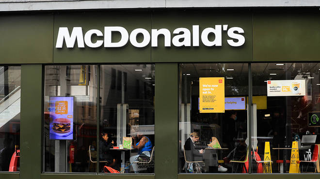 McDonalds are one of the biggest chains helping the free school meal scheme