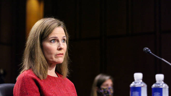 Ms Barrett is 48, and her lifetime appointment as the 115th justice will solidify the court's conservative tilt by 6 to 3