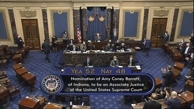 The vote was confirmed in the Senate this evening