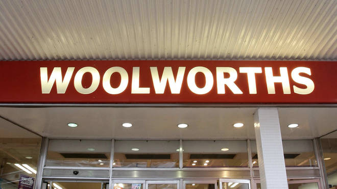 File image: A Woolworths store front