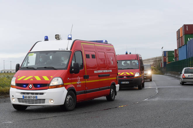 A group of 18 survivors were taken to hospitals in northern France