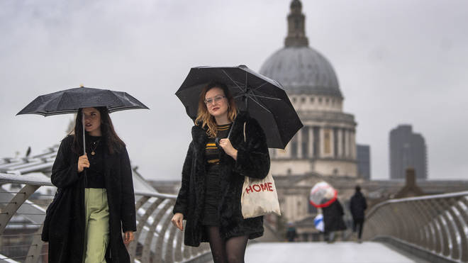 The wettest month for the UK in 2020 so far was February