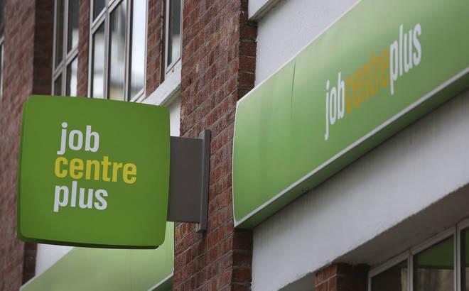 File photo: A Job Centre Plus in London