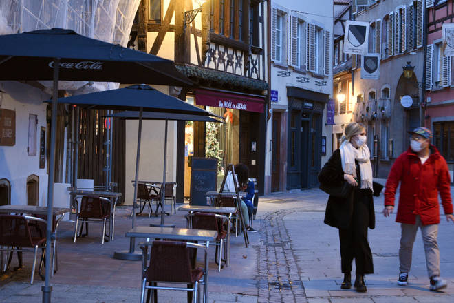 Pubs and bars are expected to be shuttered again in France
