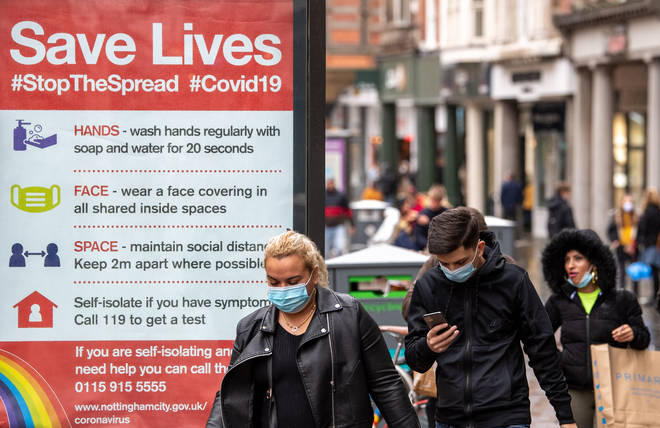 The UK's coronavirus second wave could be worse than the first, Sage has warned