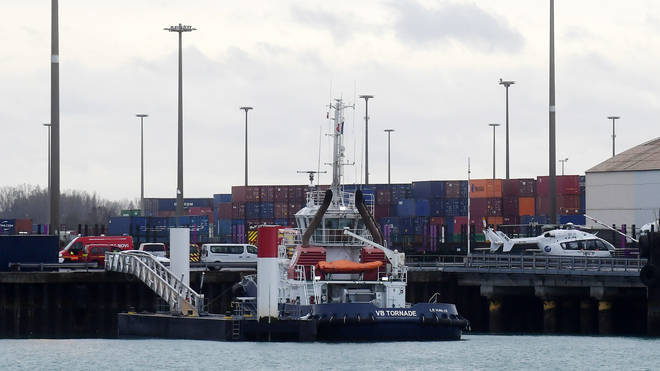 The two youngsters, aged just five and eight, were among four who died following the sinking of a boat off Dunkirk on Tuesday