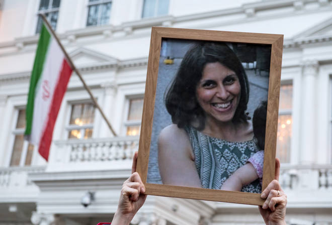 Mrs Zaghari-Ratcliffe has been detained in Iran since 2016 when she was sentenced to five years in prison on syping charges/