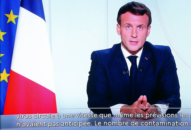 French President Emmanuel Macron said a new nationwide lockdown would be the only possible way to successfully fight Covid-19