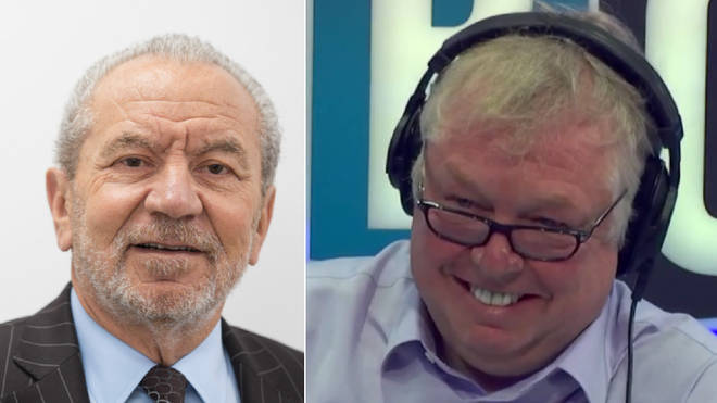Lord Sugar gave his withering response to Brexit to Nick Ferrari