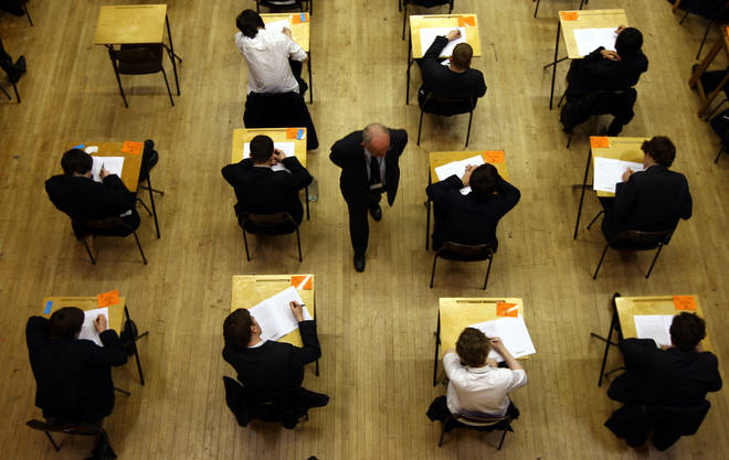 File photo: This summer's exam season turned into a fiasco after tests were cancelled because of the Covid-19 lockdown