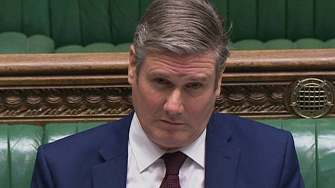 Sir Keir Starmer suspended Jeremy Corbyn from the party today