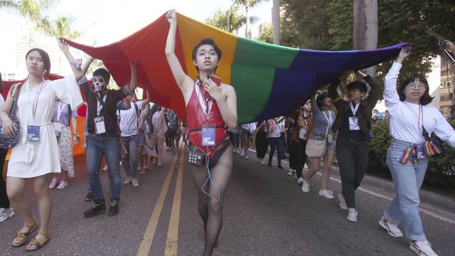 Taiwan LGBTQ Parade