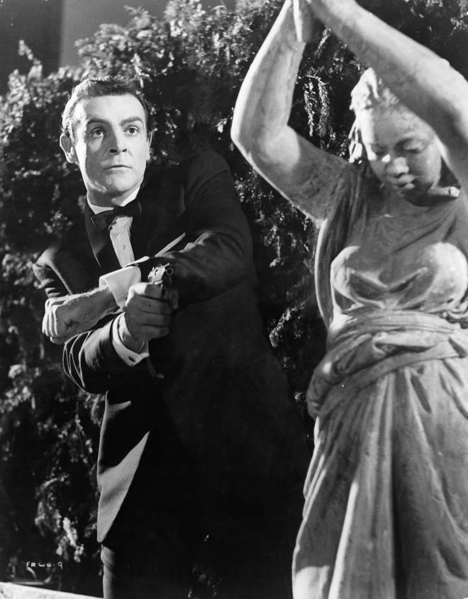 Sean Connery in 'James Bond: From Russia With Love'