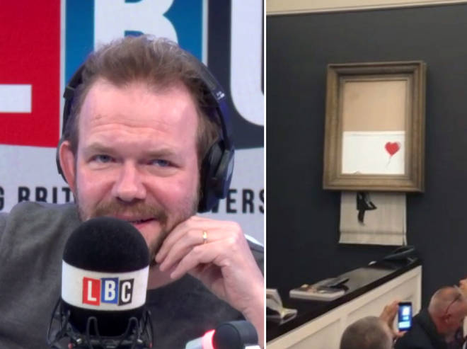 James O'Brien found out how Banksy pulled off his stunt