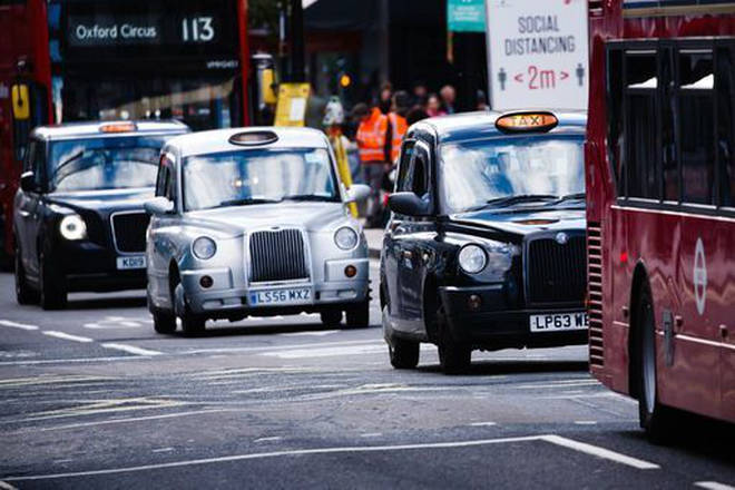 The caller worried his taxi would cease to be viable during lockdown
