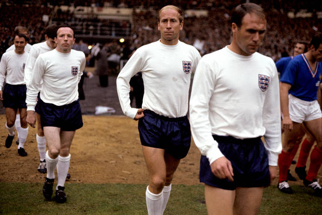 Sir Bobby is regarded as one of England's best ever footballers