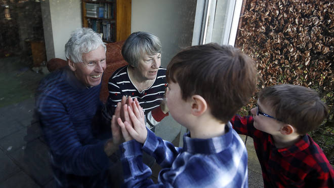 Lockdown presents many challenges for the elderly