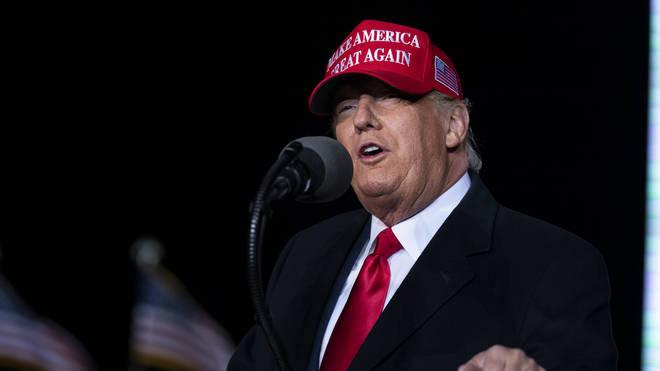 Donald Trump has criticised the FBI