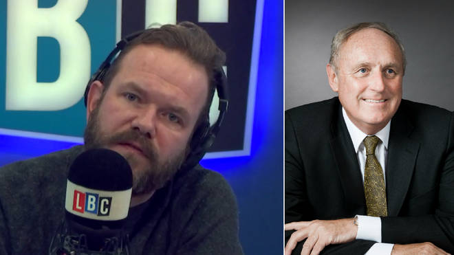 James O'Brien had one key question for Paul Dacre