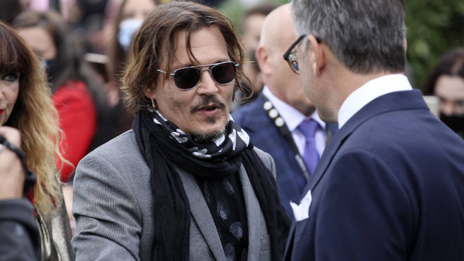 A judge found the report in the Sun labelling Depp a wife beater was 'substantially true'