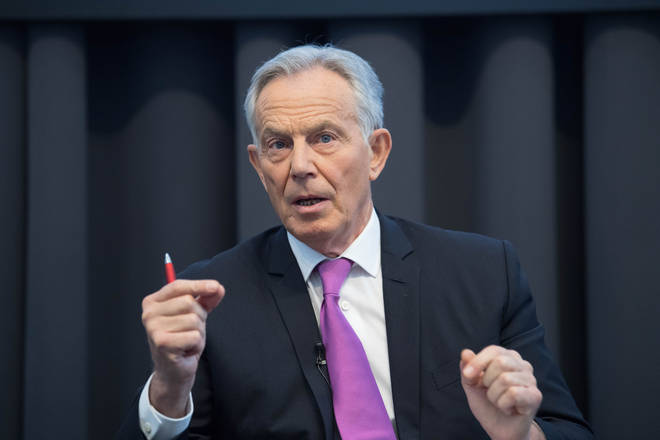 Tony Blair has told LBC that the Government should have built up testing capacity sooner