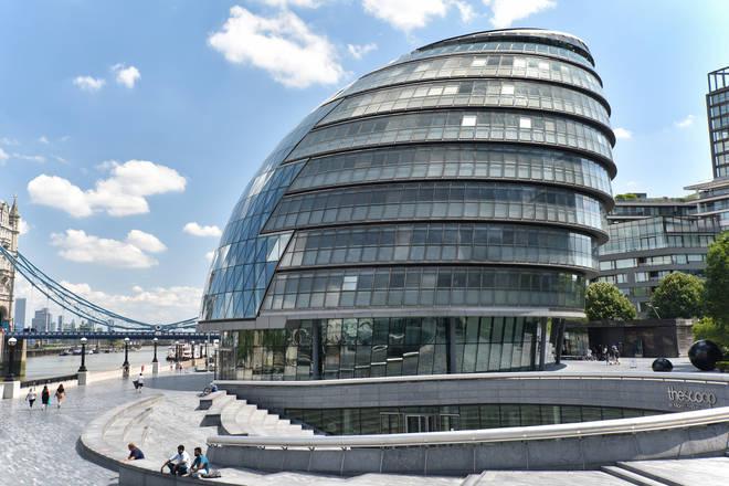 Sadiq Khan says City Hall will move to London's East End