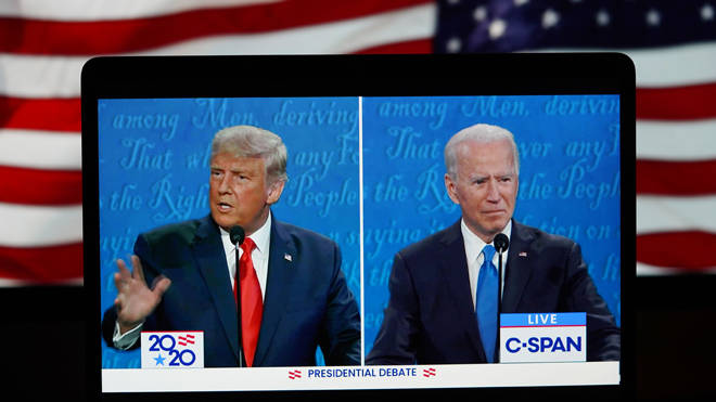 Donald Trump and Joe Biden spent their last day campaigning