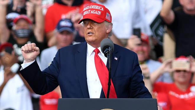 Donald Trump has won the key battle ground of Florida